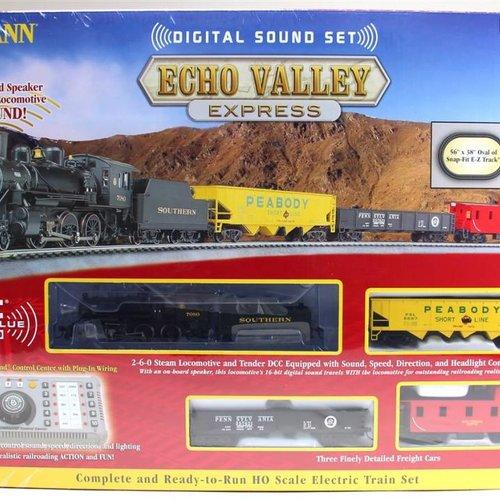 Bachman BAC00825 HO Echo Valley Express Set w/EZ Command Sound