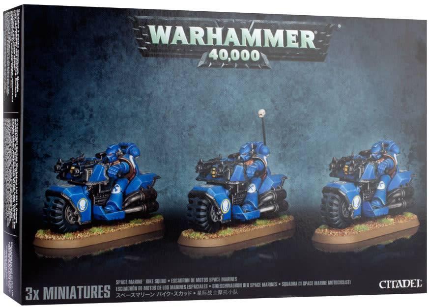 Citadel Warhammer 40,000 Space Marine Bike Squad, 48-11