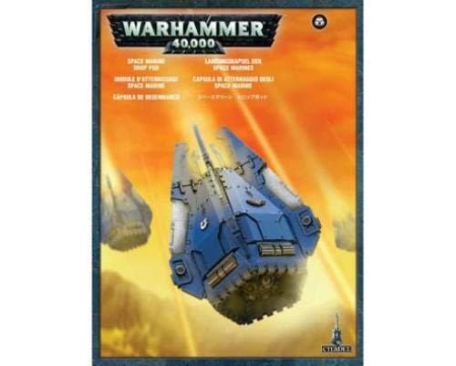 Citadel Space marine Drop Pod (48-27)