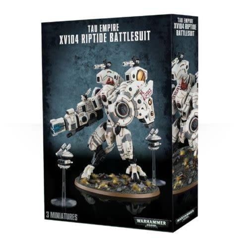 Citadel Tau Empire XV104 Riptide Battlesuit  56-13