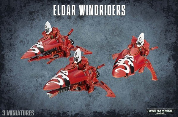 Citadel Eldar Windriders 46-06