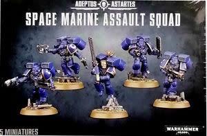 Citadel Space Marine Assault Squad (Adeptus Astartes) 48-09