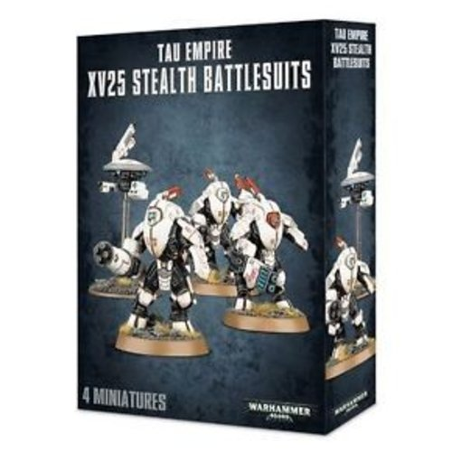 Citadel Tau Empire XV25 Stealth Battlesuits  (56-14)