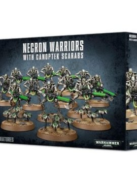 Citadel Necron Warriors with Canoptek Scarabs 49-06