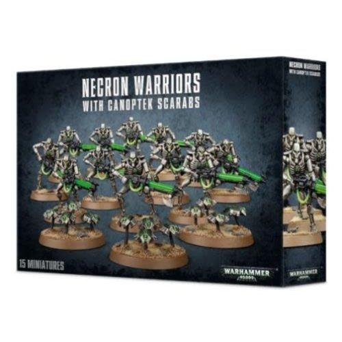 Citadel Necron Warriors with Canoptek Scarabs 49-06