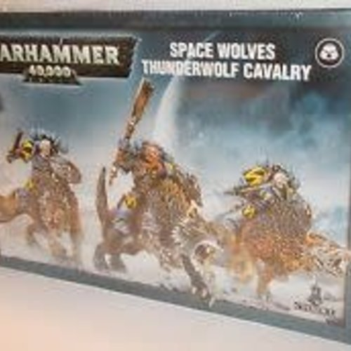 Citadel Space Wolves Thunderwolf Cavalry 53-09
