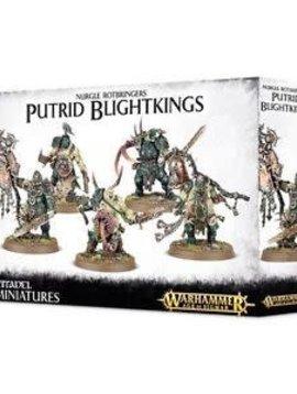 Citadel Nurgle Rotbringers Putrid Blightkings  83-28