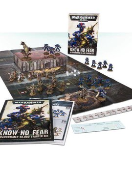 Citadel KNOW NO FEAR a warhammer 40k starter set