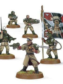 Citadel Astra Militarum Cadian Command Squad