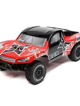 ECX ECX03333T1 1/10 2wd Torment SCT Brushed, Lipo: Red/Silver RTR