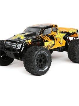 ECX ECX03331T2 1/10 2wd Ruckus Monster Truck BD, Lipo:Blk/Org RTR