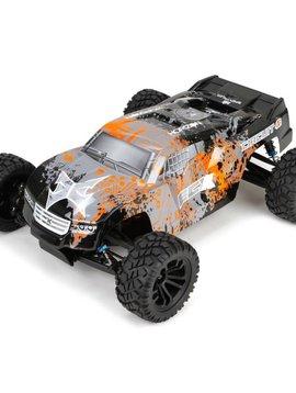 ECX Circuit 1:10 4wd Stadium Truck Brushed: RTR Black/Orange
