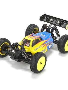 Losi LOS01004T1 Mini 8IGHT RTR, AVC, Blue: 1/14 4WD Buggy