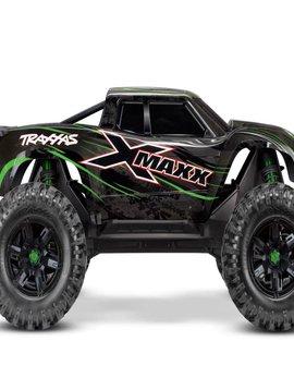 Traxxas 77086-4 GRN X-Maxx: Maxx-Scale 4WD 8S Brushless Truck