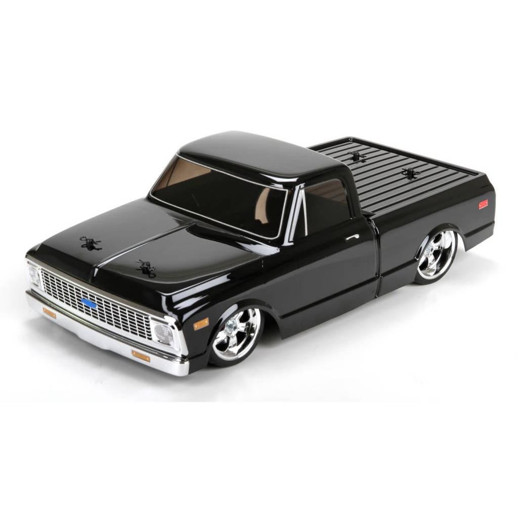 Pickup chevy c10 pickup truck : Vattera VTR03032 1972 Chevy C10 Pickup Truck V-100 S 1:10 RTR ...