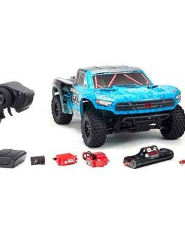 ARRMA 1/10 SENTON 4x4 MEGA Short Course Truck Blue/Black
