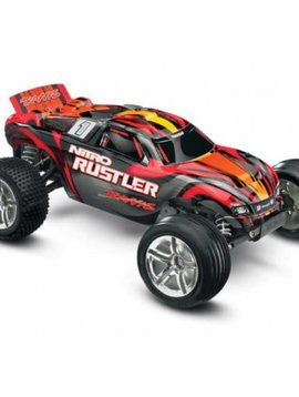 Traxxas TRA44096-3 1/10 Nitro Rustler 2WD w/TSM