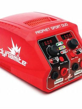 Dynamite DYNC2025 Prophet Sport Duo 50W x 2 AC Battery Charger, US