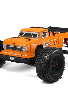 ARA ARAD84 Outcast 6s Orange Stunt Truck 1/8 Scale