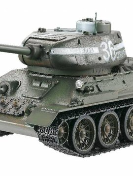 IMEX 1/16 Scale 2.4 Ghz Russian T34/85 Smoke, Sound, BB