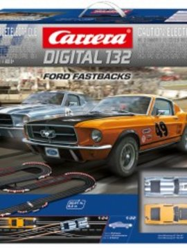 carrera Ford Fastbacks Digital 132 set