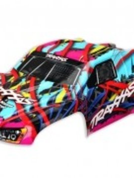 Traxxas TRA5849 Body Slash 4x4 Hawaiian Graphics (painted, decals applied)