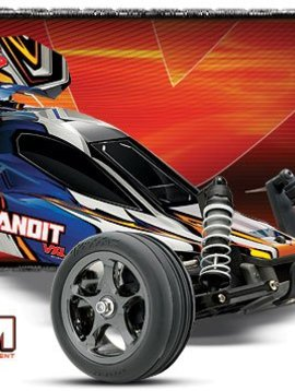 Traxxas 24076 Bandit VXL 1/10 Scale Buggy Red RTR, w/TSM, 2.4GHz Radio,
