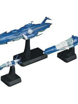 Bandai Bandai Gundam 1/1000 Yunagi Combined Cosmo Fleet Str Bl
