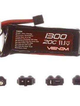 Venom VNR15023 20C 7.4V 2000mAh 2S LiPo Battery: UNI Plug