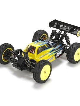Losi LOS01004T2 1/14 Mini 8IGHT 4WD Buggy Brushless RTR with AVC, Black