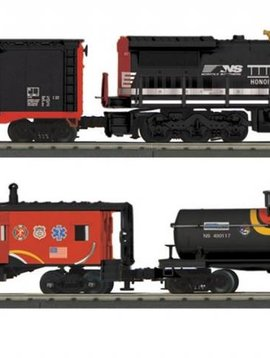 MTH O Gauge RailKing Dash-8 Diesel R-T-R Freight Train Set w/Proto-Sound 3.0