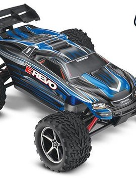 Traxxas 71054-1 - E-Revo: 1/16-Scale 4WD Racing Monster Truck with TQ 2.4GHz radio system