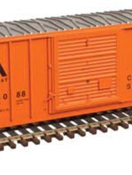 ATL N FMC 5077 Single Door Box, VTR/Orange 4088