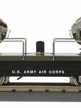 MTH O #2820 Series Floodlight Car, US Army