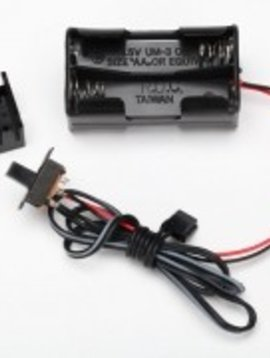 Traxxas TRA3170X Battery Holder 4-Cell On/Off Switch
