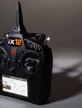 spektrum iX12 12-Channel DSMX Transmitter Only (SPMR12000)