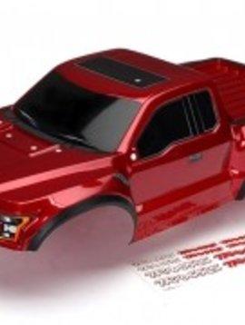 """Traxxas 5826R Body, 2017 Ford Raptor"""", red (heavy duty)/ decals"""