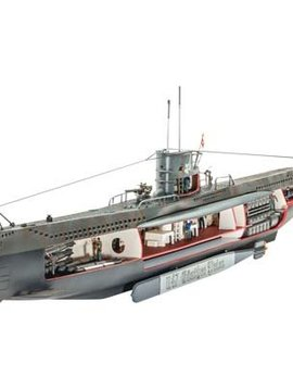 RVL 05060 1/125 German Submarine U-47 w/Interior