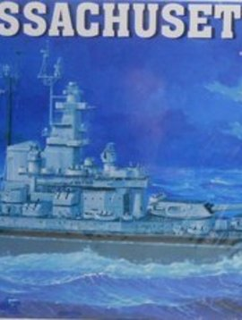 Trumpeter Models 1/350 USS Massachusetts BB-59