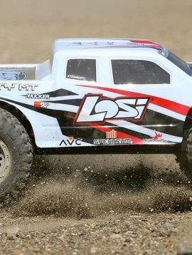 LOS TENACITY Monster Truck, White, AVC: 1/10 4WD RTR
