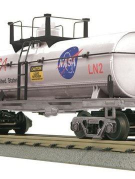Mikes Train House MTH3073473 O-27 Operating Smoking Tank, NASA