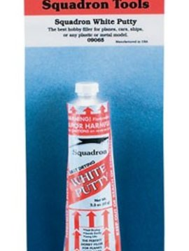 SQU 9065 White Putty Carded 2.5 oz