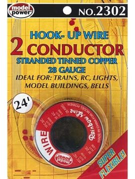 MDP 2302 Hook-Up Wire 2 Conductor Red/Black 24