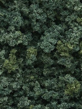 Woodland Scenics WOOFC136 Underbrush Bag, Medium Green/18 cu. in.
