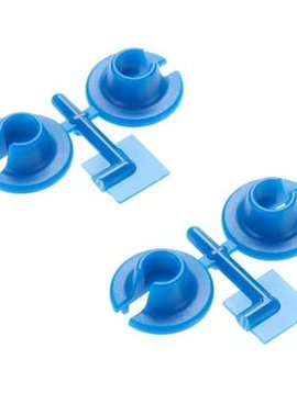 RPM Lower Spring Cups,Blue:TRA/LOS/ASC MGT,Rally
