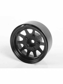"""RC4WD RC4WD OEM Stamped Steel 1.55"""" Beadlock Wheels Black"""