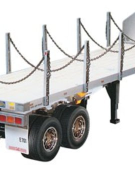 Tamiya TAM56306 1/14 Flatbed Semi-Trailer Kit