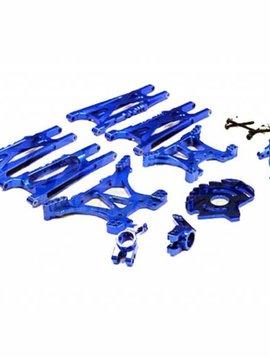 INT Alloy Conversion Set, Blue: Slash 4X4 (non-LCG)