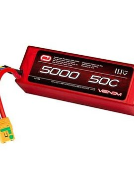 Venom VNR15188 50C 11.1V 5000mAh 3S LiPo Hardcase,  XT90-S Plug