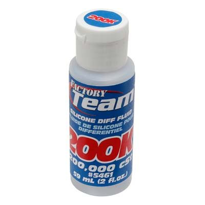Team Associated ASC5461 FT Silicone Diff Fluid 200,000cST